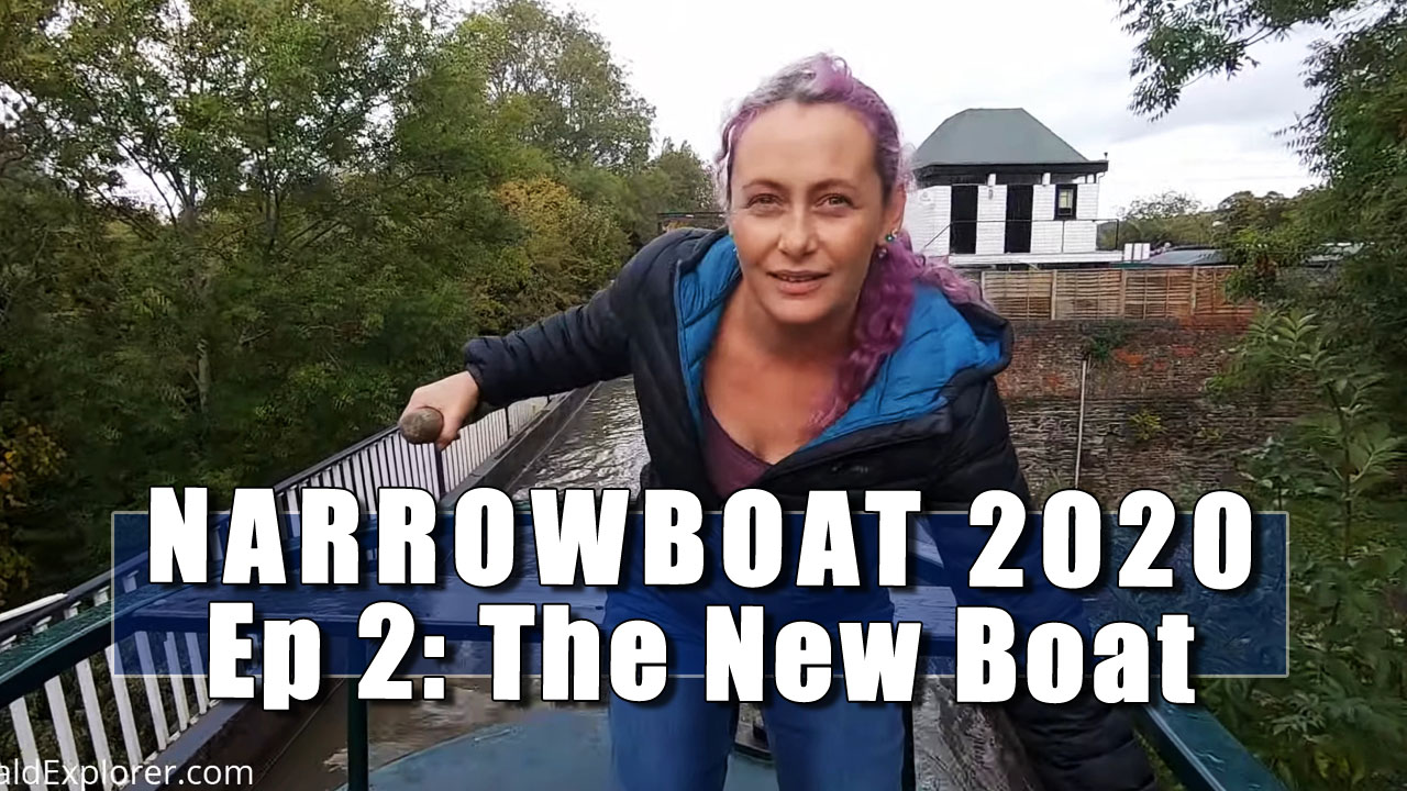 Narrowboat 2020 - In Which Julia and I transfer to a boat on the Stratford Upon Avon Canal