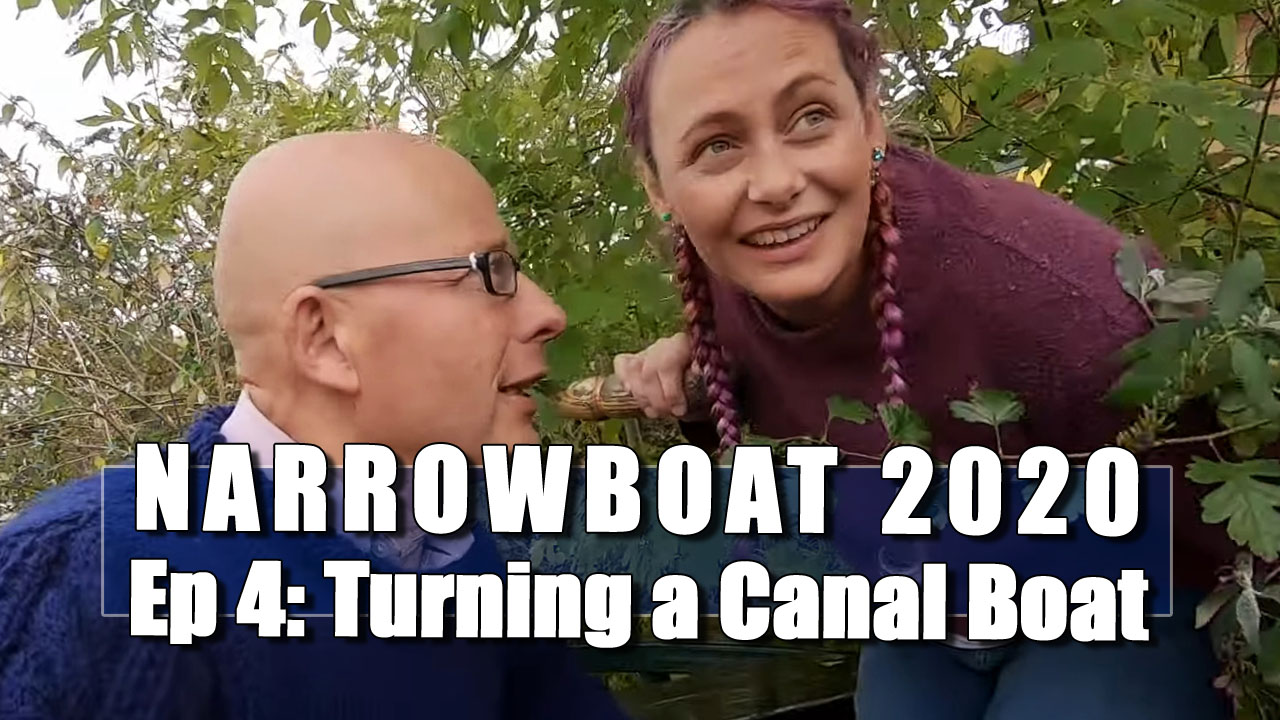 Narrowboat 2020 - In Which Julia and I push the Narrowboat into the Bushes