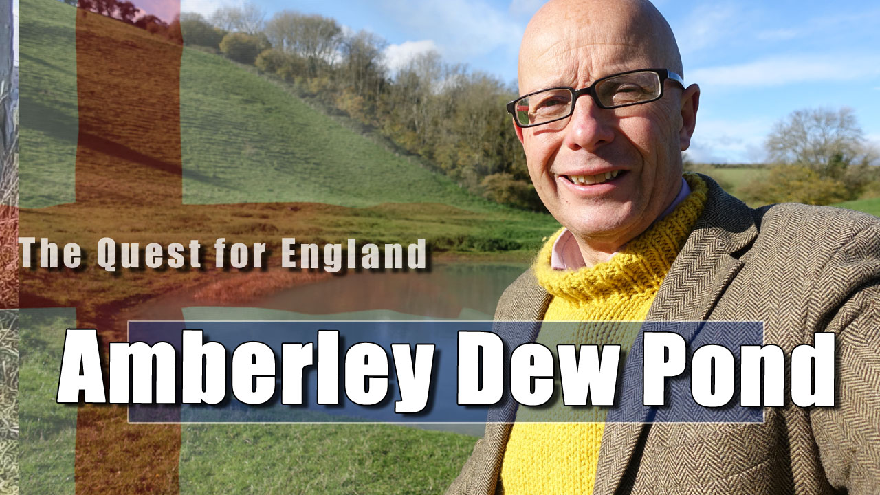 The Quest For England - In Which I continue my Walk over Amberley Downs