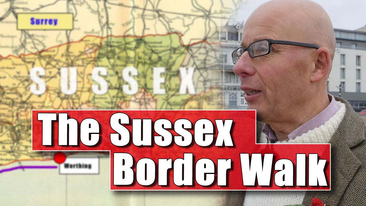 The Sussex Border Walk - Part One: Worthing Going Westwards