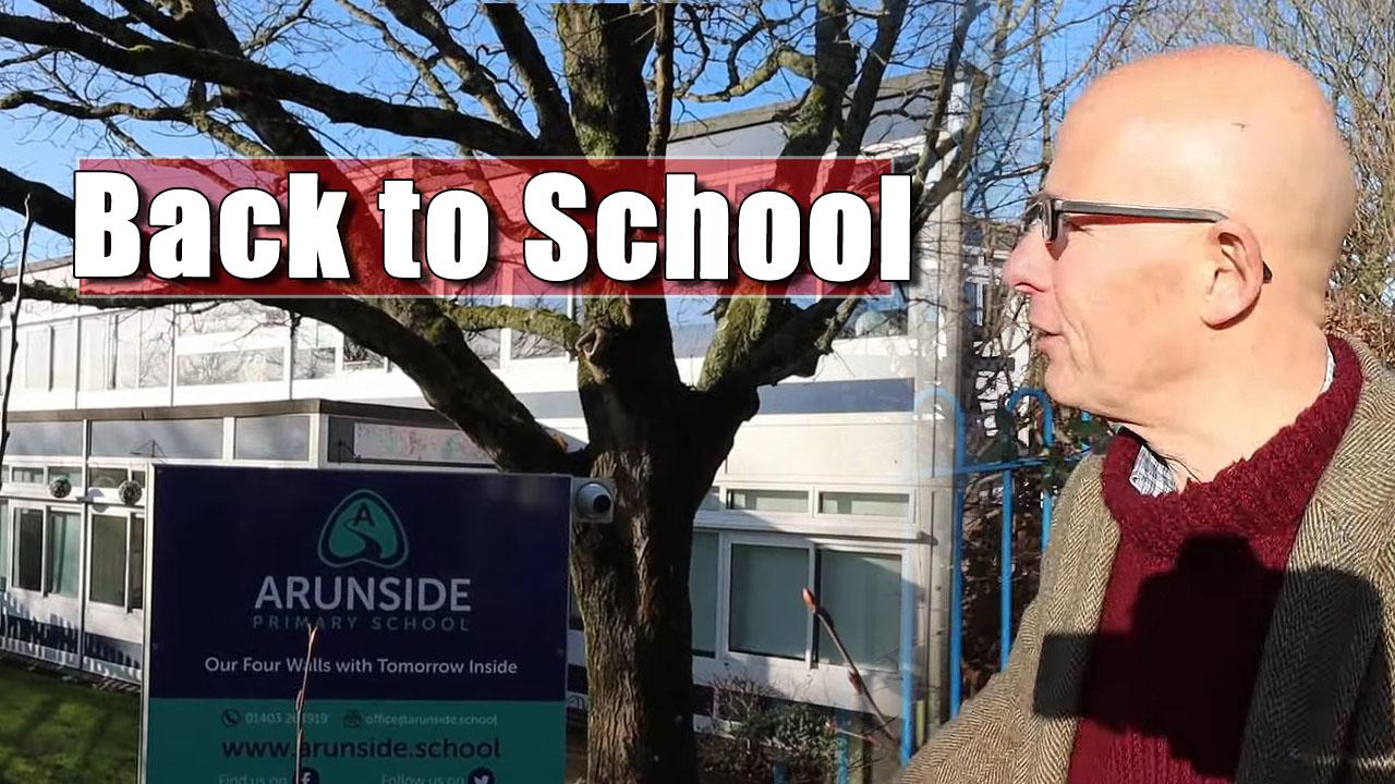 The Old School Walk in Horsham