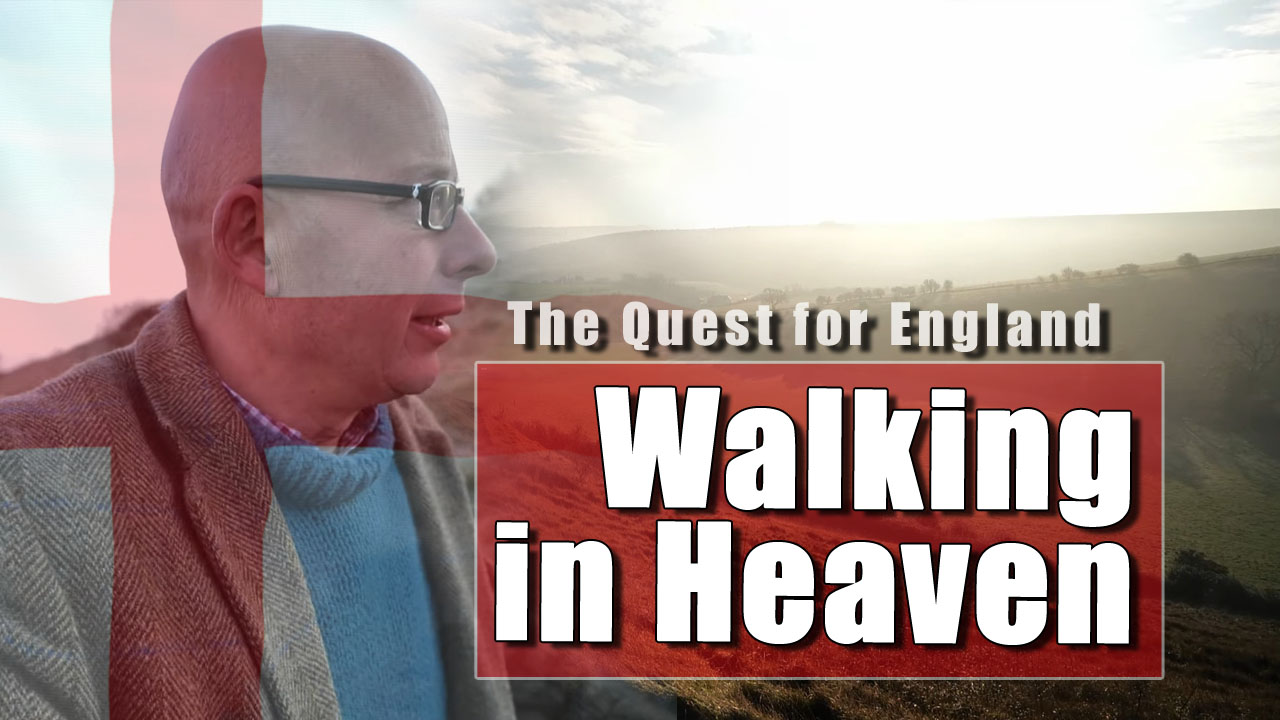 The Quest For England - In Which I Walk On The Downs Above Steyning