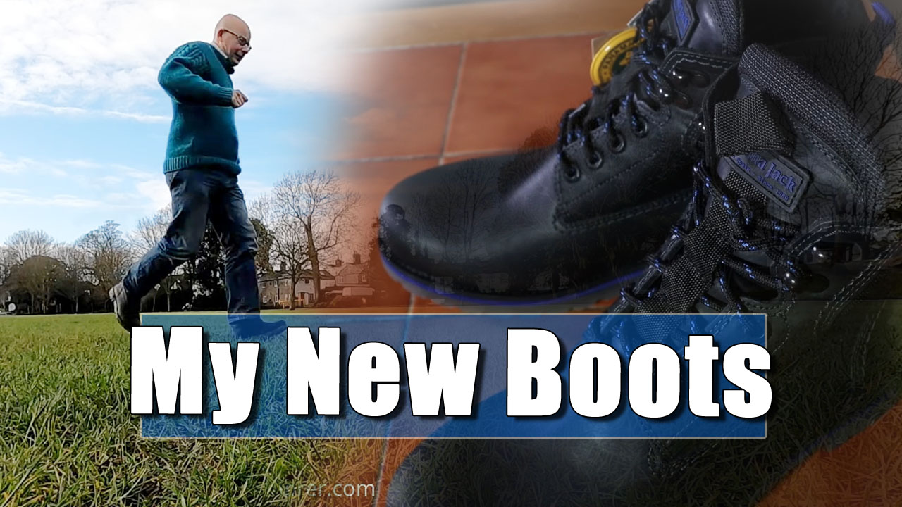 New Walking Boots for the Bald Explorer!