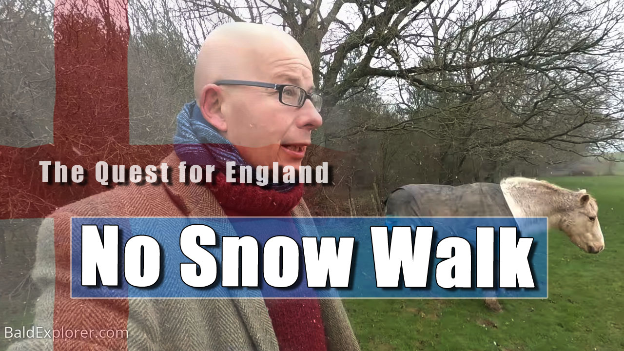 The Quest For England - It's No Blizzard Around The Sussex Fields