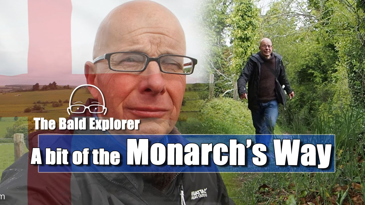 Exploring a section of the Monarch's Way