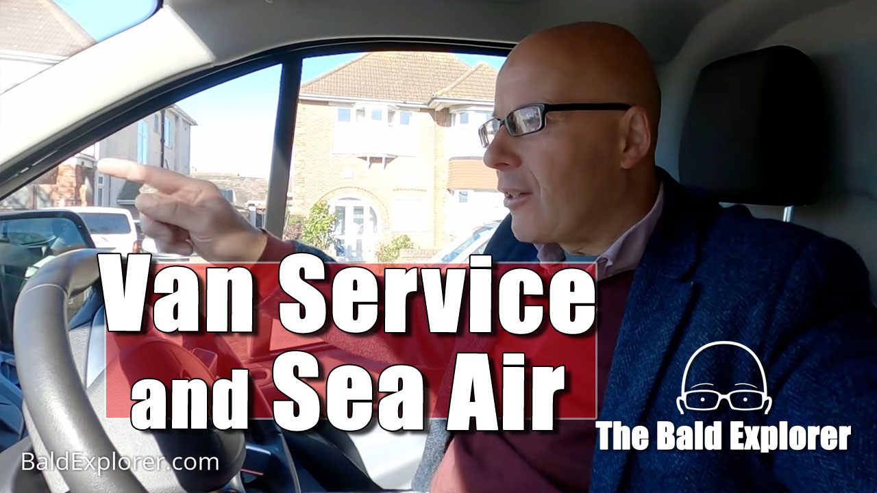 My Van Needs a Service and I need the Sea Air