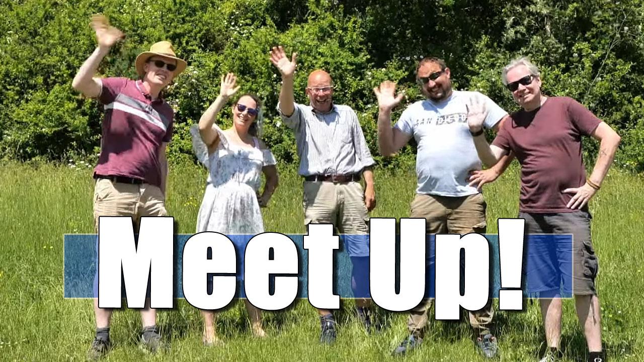 The Bald Explorer Senior Management Team Have a Meeting