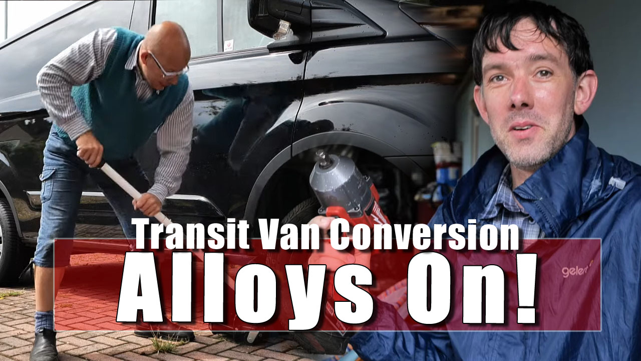 The Alloys on the Van go round and round!