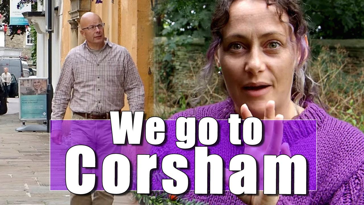 VAN TRIP UK: Richard and Julia go to Wiltshire - Part Three (Corsham)