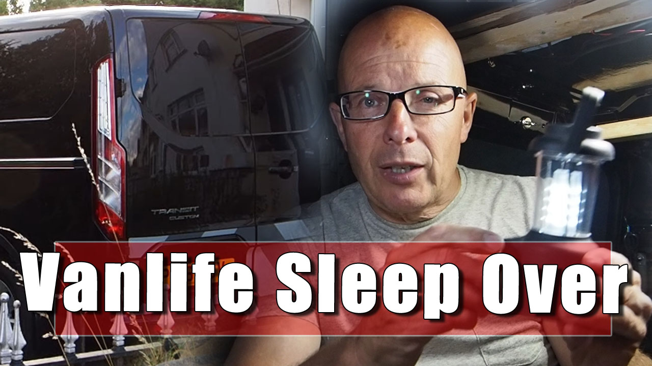 #Vanlife - A Sleepover on a Friend's Drive