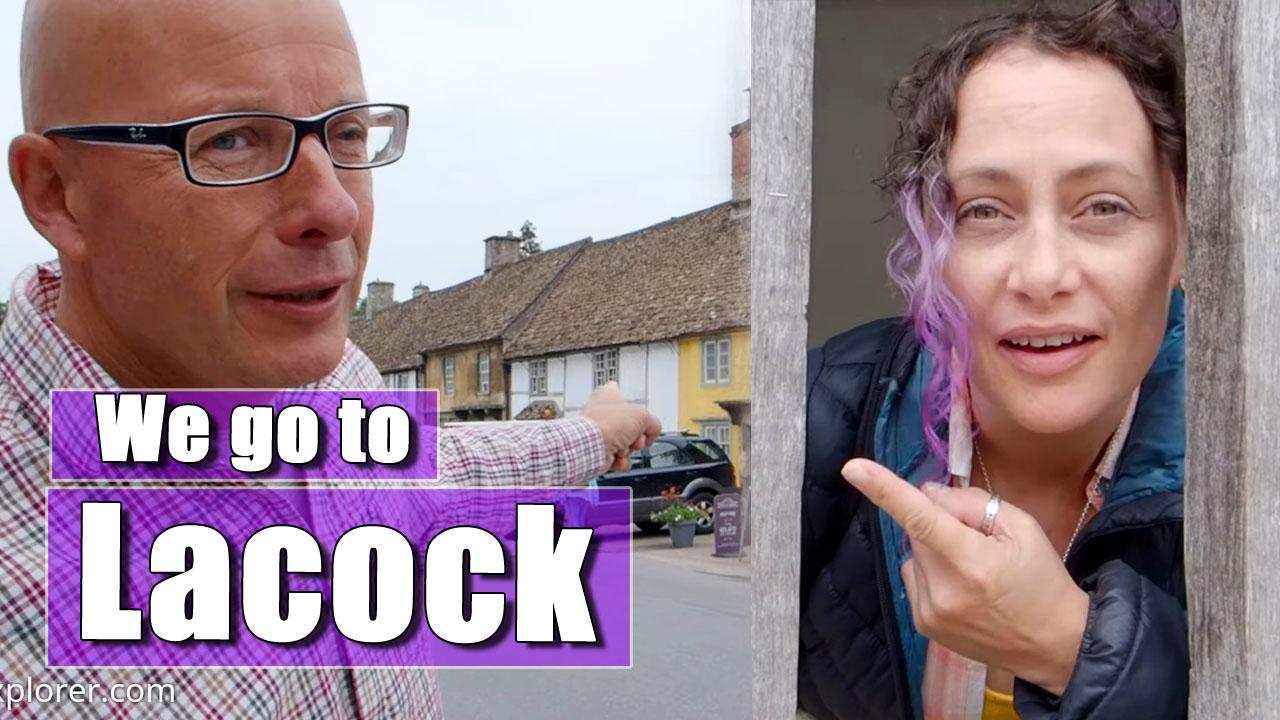 VAN TRIP UK: Lacock: Richard and Julia go to Wiltshire - Part Six