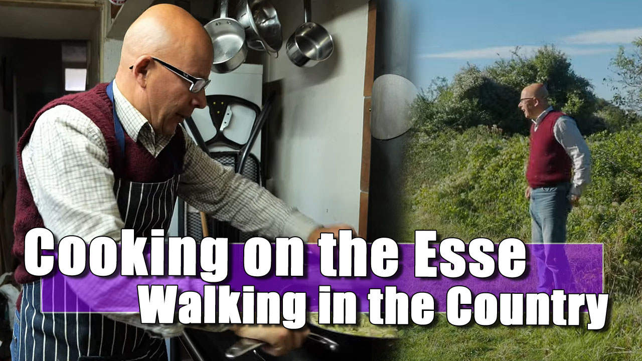 Cooking on an Esse | A Walk Before the Pie